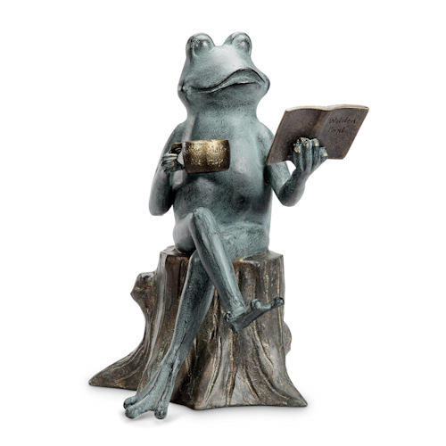 garden frog statue. Share This Product Garden Frog Statue