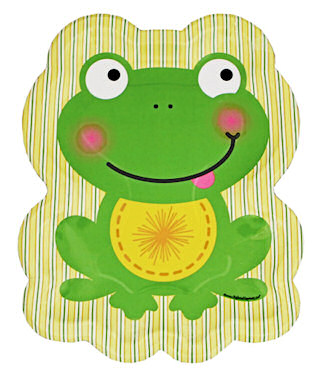 Froggy Frog Large Plates pk/8  sc 1 st  The Frog Store Frog Gifts Frog Party Supplies Frog Jewelry - Toys ... & The Frog Store: Frog Gifts Frog Party Supplies Frog Jewelry - Toys ...