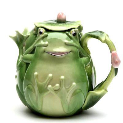 Fairy Frog Porcelain Tea Pot  sc 1 st  The Frog Store Frog Gifts Frog Party Supplies Frog Jewelry - Toys ... & The Frog Store: Frog Gifts Frog Party Supplies Frog Jewelry - Toys ...