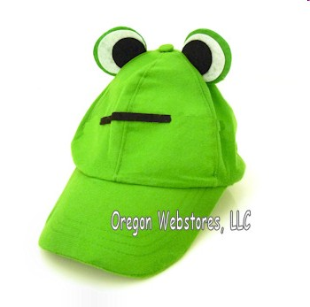 oregon coast baseball cap nike state hat ducks green frog eyes