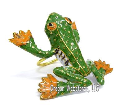 Rainforest Frog Napkin Ring