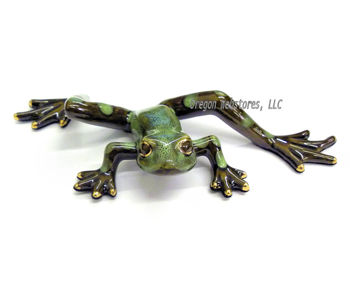 Golden Pond Green Dotted Leg Frog (Style B)