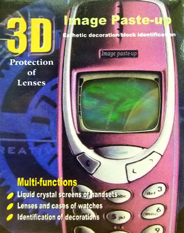 3D Hologram Frog Screen Protector