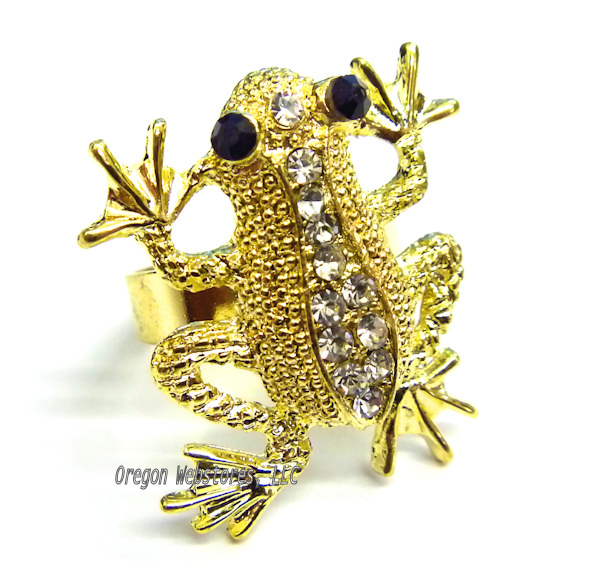 Frog Store Frog rings and frog body jewelry sterling silver and