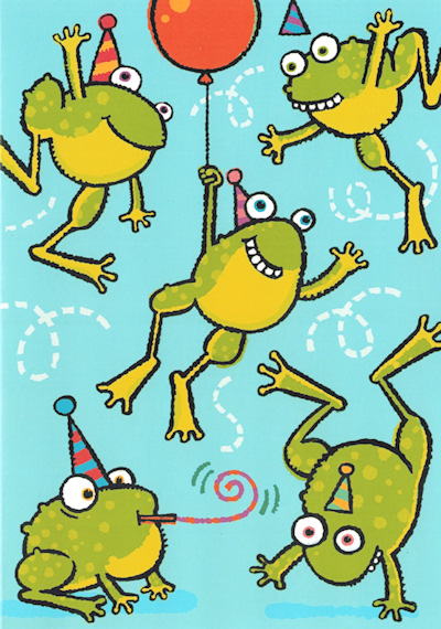 Frog Birthday Cards And Frog Belated Happy Birthday Cards