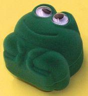 Velvet Frog Ring Box