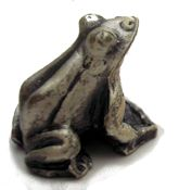 Mini Pewter Frog
