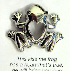 """""""Kiss Me Frog"""" Pin"""