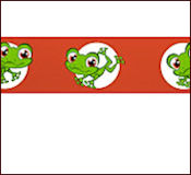 """Littlest Pet Shop"" Frog Crepe Streamers"