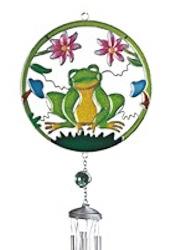 Contented Frog Garden Windchime