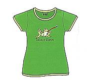"""Toadally Green"" Frog Fitted Tee"