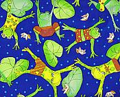 Hippity Hop Frog Gift Wrap