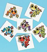 Whimsical Frog Tattoos, pk/72