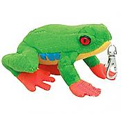 Clip-On Plush Red-Eyed Treefrog