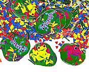 Frogs & Friends Printed Party Confetti