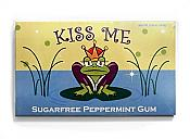 Kiss Me Frog Sugarless Peppermint Gum