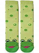 Non-Slip Froggy Tube Socks