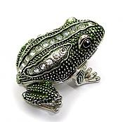 Speckled Frog Jewel Box