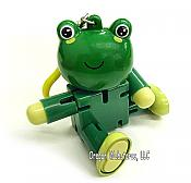 """Anibots"" Moveable Frog ClipToy"