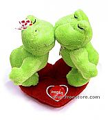 Plush Smoochie Froggies
