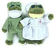 Medical Frog Bean Plush