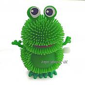 Puffball Frog Hopping Windup Toy