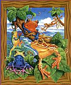 Frogs Puzzle (200 piece)