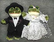 Frog Wedding Bean Plush (set/2)