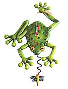 Frog & Fly Pendulum Wall Clock