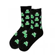Classic Black Frog Socks