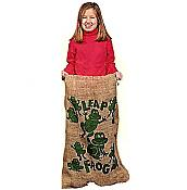 Fun Frog Potato Sack