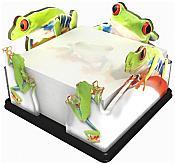 Tree Frog Memo Cube Holder