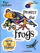 """Protect The Frogs"" Sticker"