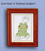 Froggy Baby Sampler Project