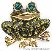 Green Crystal Laughing Frog Tac