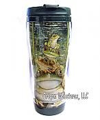 "Bergsma: ""Top Frog"" Travel Mug"