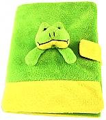 Frog Plush Notebook