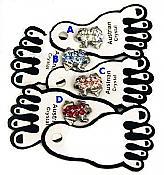 Frog Toe Rings