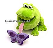 Hungry Spring Time Plush Frog