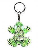 Flashing Frog Keychain