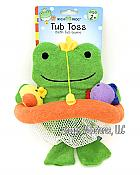Frog Tub Toss Bath Tub Game