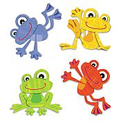 Funky Frogs Tattoos (24 pc)