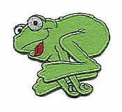 Iron-on Felt Frog Applique - HOP