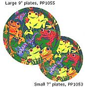 Frogs & Friends Plates