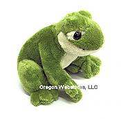 Little Plush Croaking Frog