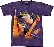 Red-Eyed Tree Frogs T-Shirt -Youth