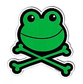 Froggy Cross Bones Magnet