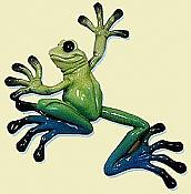 Kitty's Critters Wall Hanging Frog: Little Lucy