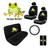 Frog Seat Cover Set