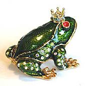 Frog Prince Jewel Box